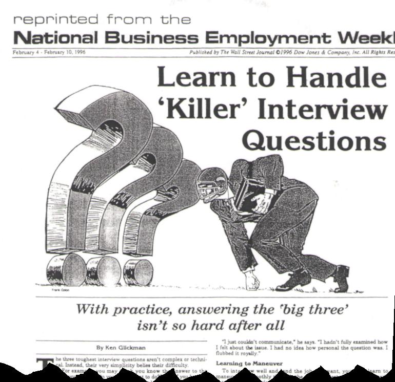 Ken Glickman Article